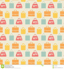 Pattern Sale Unique Sale Background With Shopping Bags Pattern Illustration 48
