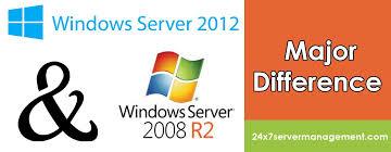 Windows Server 2008 R2 Versions Comparison Chart Post Differences Between Windows Server 2008r2 2012