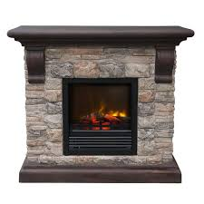 paramount ef 202m kit kampen faux stone electric fireplace lowe s canada