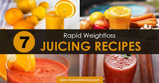 7 rapid weight loss juicing recipes you