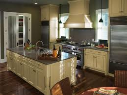 Refrigerator Options Kitchen Countertop Options Yellow Exposed Shelves Integrated White