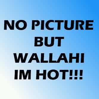 no profile picture but im hot