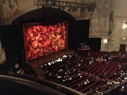 Orpheum Theatre San Francisco Section Balcony L Row Aa