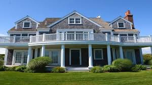 shingle style house plans. House Plan 2,300 Square Foot Shingle Style With Porches, Terraces And .. Plans