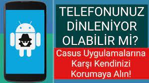 CASUS PROGRAMLARI NASIL ANLAŞILIR? Telefonunuz Dinleniyor Olabilir ! (Anti  Spy) - YouTube