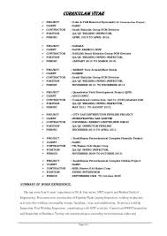Fresh Ndt Resume And Inspector Resume Sample Inspector