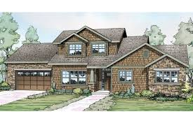 Shingle Style Home Plans House One