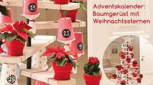 Vintage Style Adventskalender Etagere In Tannenbaumoptik