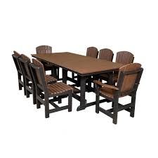poly lumber furniture. Brilliant Lumber Wildridge Furniture Poly Lumber Table With 8 Dining Chairs Throughout