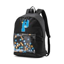 Детский <b>рюкзак Sesame Street</b> Backpack Sport | Черный | Puma