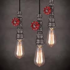 edison style lighting fixtures. Elegant Industrial Light Fixtures Of Rustic 8 Wrought Iron Style Lighting Edison