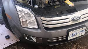 2008 Ford Fusion Side Marker Light 2006 2009 Ford Fusion How To Change Low Beam Headlight Right Side