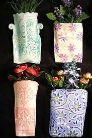 clay wall pocket with inlaid lace by prettypotterybytc on etsy pretty pottery pinterest wall pockets clay and walls on clay wall art pottery with clay wall pocket with inlaid lace by prettypotterybytc on etsy
