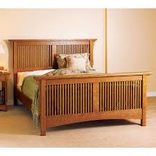 Arts and Crafts Bed, Mission Style | WOOD Magazine