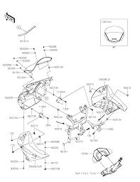 2015 kawasaki klr650 kl650eff cowling parts best oem cowling parts diagram for 2015 klr650 kl650eff motorcycles