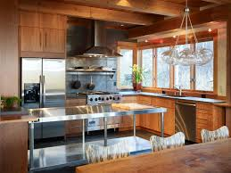Stainless Top Kitchen Table Stainless Kitchen Tables Home Interior Inspiration