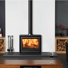 free standing stove. Just-Stoves - Stovax Riva F76 10kW Freestanding Wood Burning Stove 01423 812877 Free Standing N