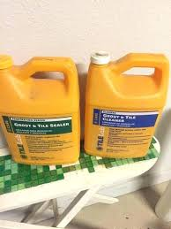 grout and tile cleaner tilelab msds