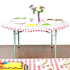 fitted round plastic tablecloths fitted vinyl