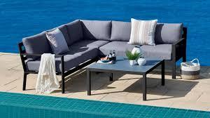 furniture outdoor living. curren 4 piece outdoor modular lounge setting furniture living