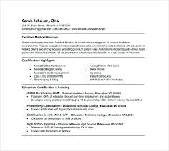 Physician Assistant Resume Examples Classy Sample Resume Medical Assistant Medical Assistant Resume Template