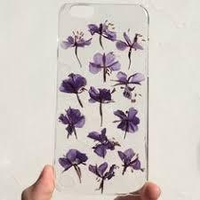 Real pressed flowers iphone case: лучшие изображения (15) | I ...