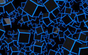 Black And Blue Wallpapers - Wallpaper ...