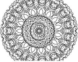 Small Picture Kaleidoscope Pattern Coloring Pages Doodle Flower Coloring Page