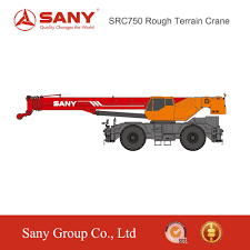 Sany 75 Ton Crane Load Chart Sany Src750 75 Tons Highly Sensitive Load Lifting Capacity Rough Terrain Crane Mobile Buy Crane Mobile Truck Mounted Crane Crane Product On