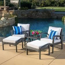 5 piece conversation patio set 5 piece conversation set with cushions mainstays pyros 5 piece patio