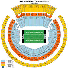 Oakland Coliseum Interactive Seating Chart Oakland Coliseum Seating Chart Views And Reviews Oakland