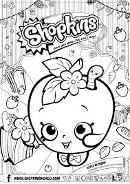 Coloring Pages Shopkins Coloring Pages Free Printable Sheets Pdf