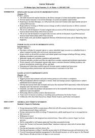 Insurance Account Manager Resume Examples Samples Sales Sample Free