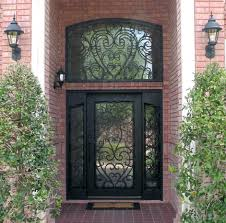 Front Doors: unusual front doors with wrought iron for house ...
