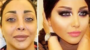 makeup transformation contouring 1