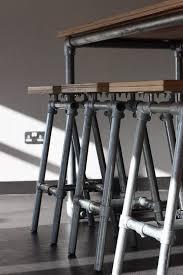 Schmiedeeisen Möbelentwürfe Regal Pinterest Barhocker Aus Rohren Und Verbindern Industrial Look 26 Stylische Möbel Rohrverbindern Industrie
