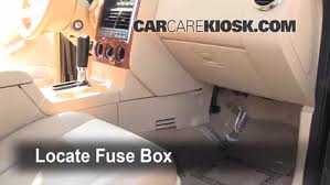 interior fuse box location 2006 2010 ford explorer 2006 ford 2007 Ford Explorer Sport Trac Fuse Box Diagram locate interior fuse box and remove cover Ford Explorer Fuse Chart