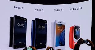 nokia 5 smartphone. nokia 3, 5, 6 \u0026 3310 5 smartphone