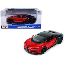 Plus, with prices starting as low as $22.75 you're going to be smiling when your. Bugatti Chiron Sport 16 Red And Black Special Edition 1 24 Diecast Model Car By Maisto Target