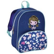 <b>Hama LOVELY GIRL</b> (<b>синий</b>, голубой) - Ранец, рюкзак, сумка, папка