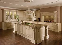 Classic Kitchen Classic Kitchen Wooden Island Lacquered Versailles De Luxe