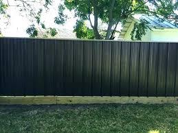 corrugated fence panels metal retaining wall sheet privacy f corrugated metal fence panels