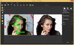 How To Delete Background Around Hair