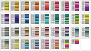 You cannot specify these colours in html and css by their colour name but you can use. General Color Chart 5 Printable Charts Word Pdf