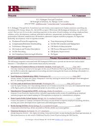 Hr Manager Resume Examples