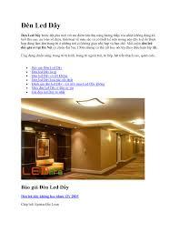Báo Giá Đèn Led Dây LED Life
