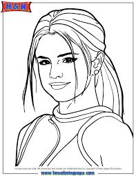Selena Gomez Self Portrait Coloring Page H M Coloring Pages