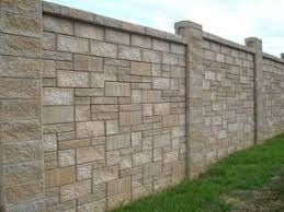 Small Picture Concrete Block Fence Fence Design