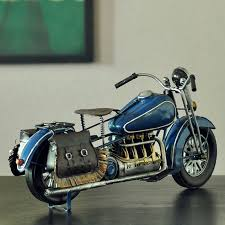 oursanli handmade antique motorcycle model wwii halley davidson