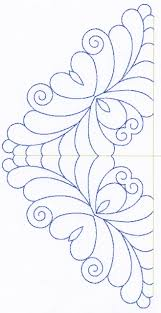 Feather Quilting Designs Set 6 | stepelő minták | Pinterest ... & Feather Quilting Designs Set 6 Adamdwight.com